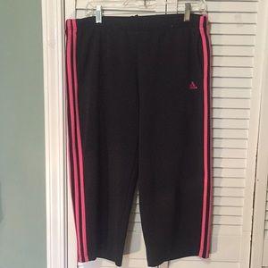 Adidas lounge pants.